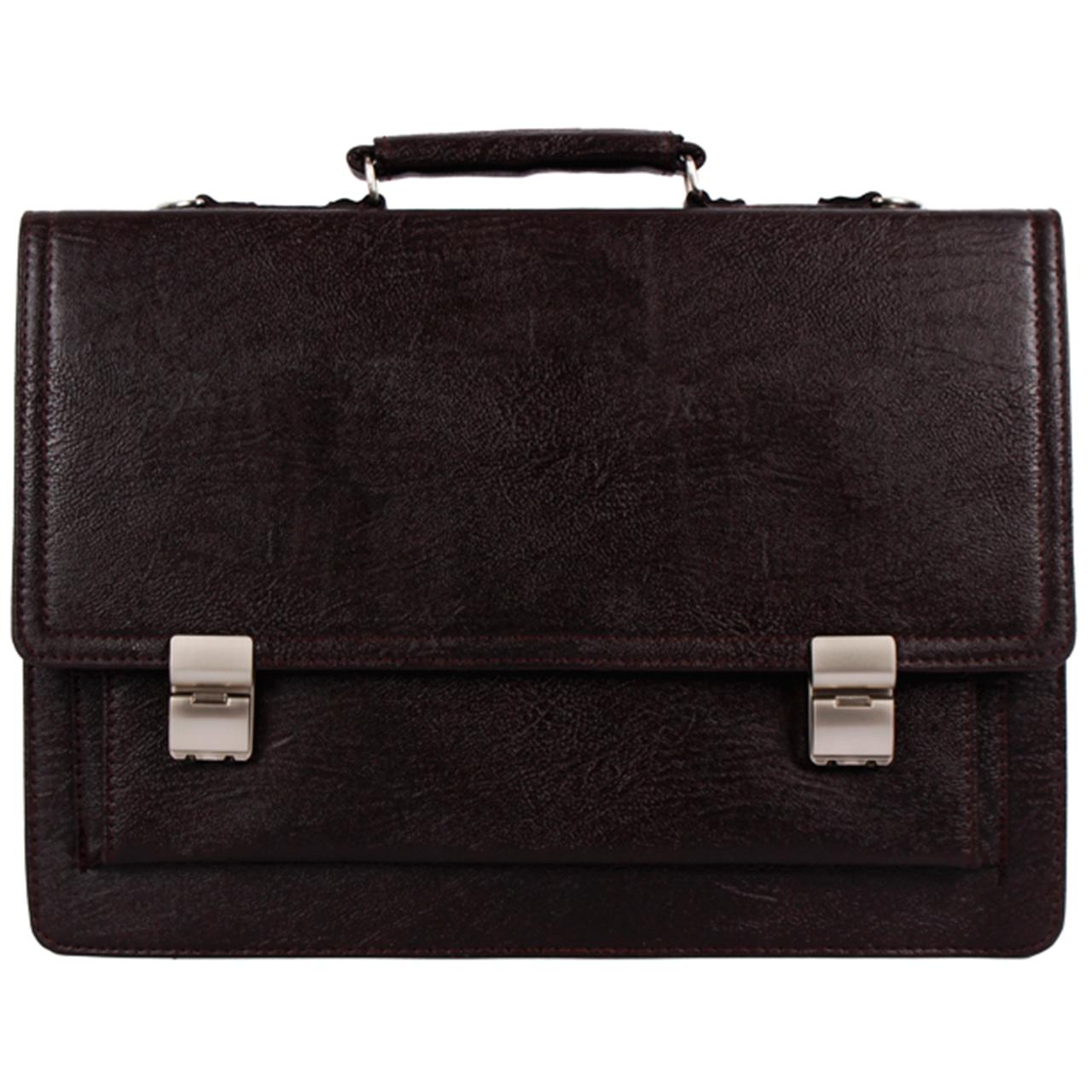 قیمت کیف اداری مردانه رویال چرم کد BF5-DarkBrown