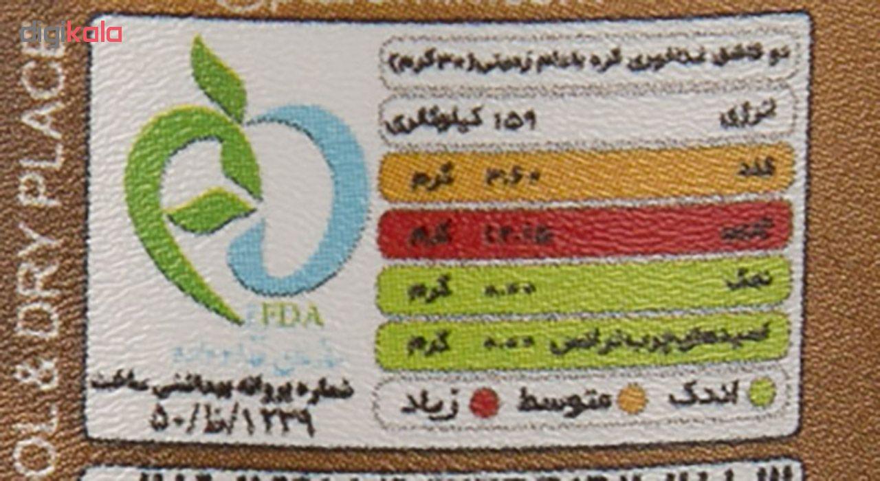 کره بادام زمینی پوپر مقدار 185 گرم