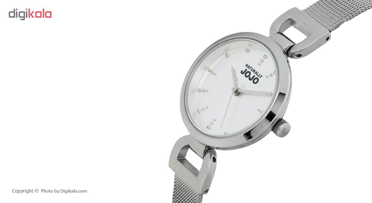 ساعت مچی عقربه ای زنانه نچرالی ژوژو مدل JO96889.80F