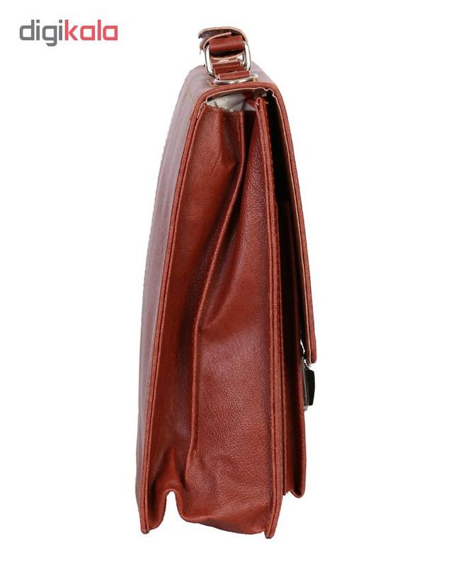 کیف اداری مردانه رویال چرم کد BF5-Brown