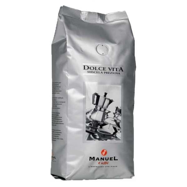 قهوه آسیاب مانوئل کافه مدل dolce vita بسته 500 گرمی