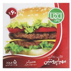 همبرگر 60% مهیا پروتئین مقدار 500 گرم