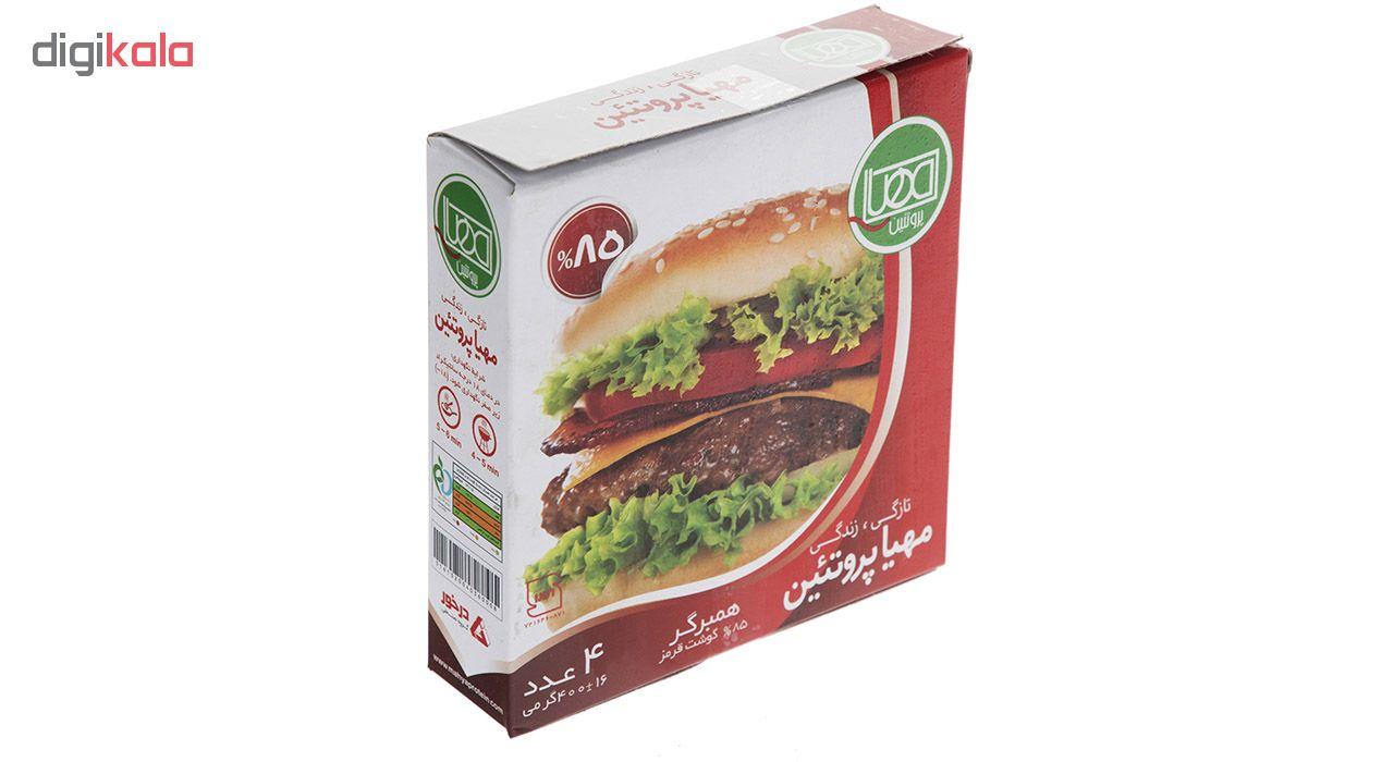 همبرگر 85% مهیا پروتئین مقدار 400 گرم