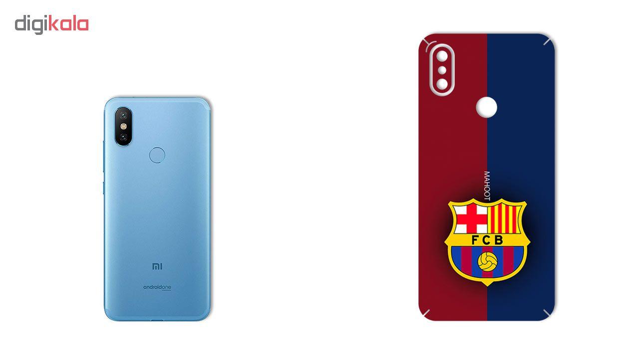 برچسب تزئینی ماهوت مدل BARCELONA Design مناسب برای گوشی  Xiaomi Mi A2-Mi 6X main 1 1