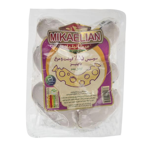 کوکتل پنیر گوشت و مرغ 55% میکائیلیان مقدار 330 گرم