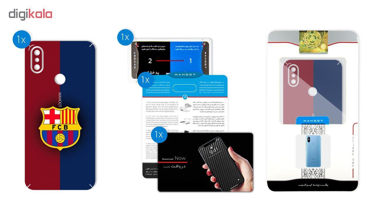برچسب تزئینی ماهوت مدل BARCELONA Design مناسب برای گوشی  Xiaomi Mi A2-Mi 6X main 1 2