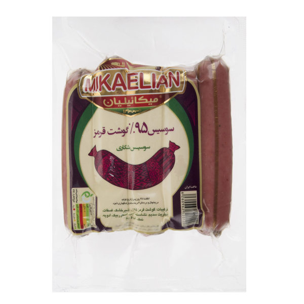 سوسیس شکاری 95% میکائیلیان مقدار 260 گرم