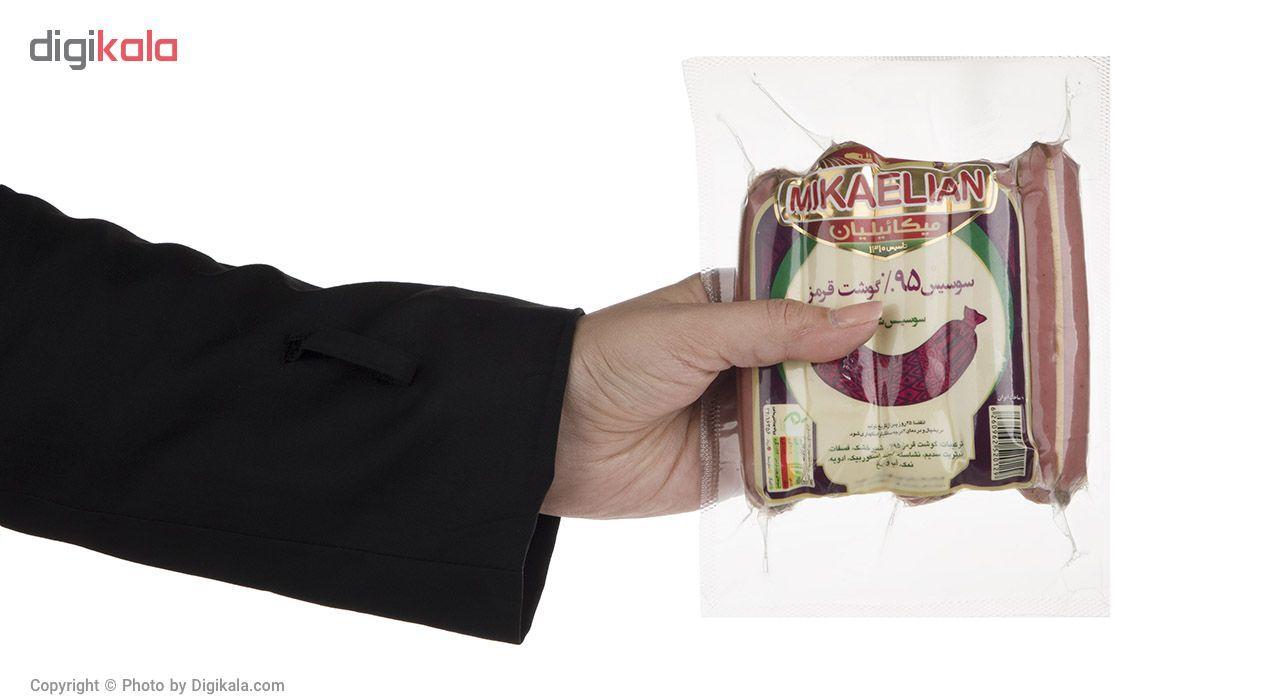 سوسیس شکاری 95% میکائیلیان مقدار 260 گرم main 1 4