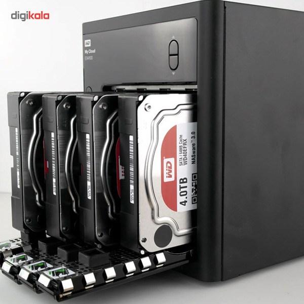 ذخیره ساز تحت شبکه 4Bay وسترن دیجیتال مدل My Cloud EX4100 ظرفیت 24 ترابایت