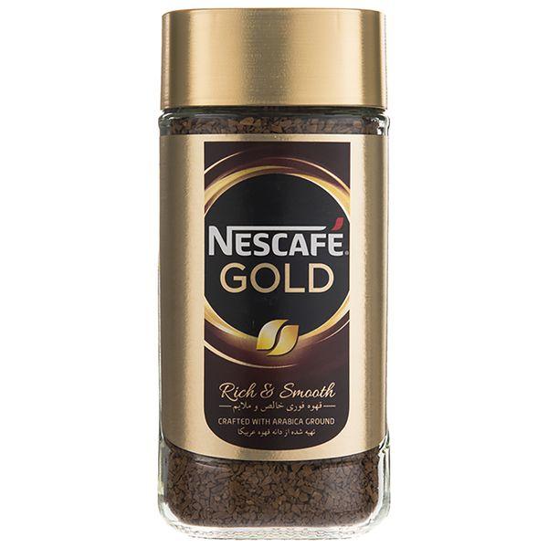 قهوه فوری نسکافه گلد مقدار 200 گرم