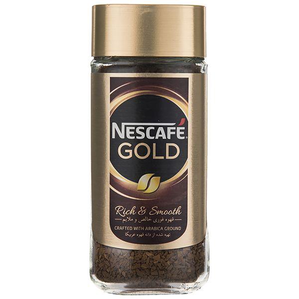 قهوه فوری نسکافه گلد مقدار 100 گرم