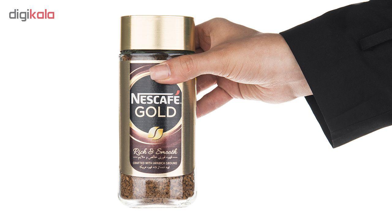 قهوه فوری نسکافه گلد مقدار 100 گرم main 1 2