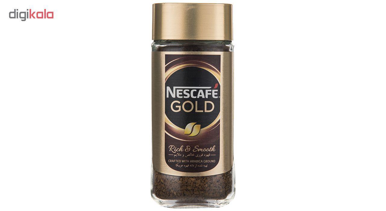 قهوه فوری نسکافه گلد مقدار 100 گرم main 1 3
