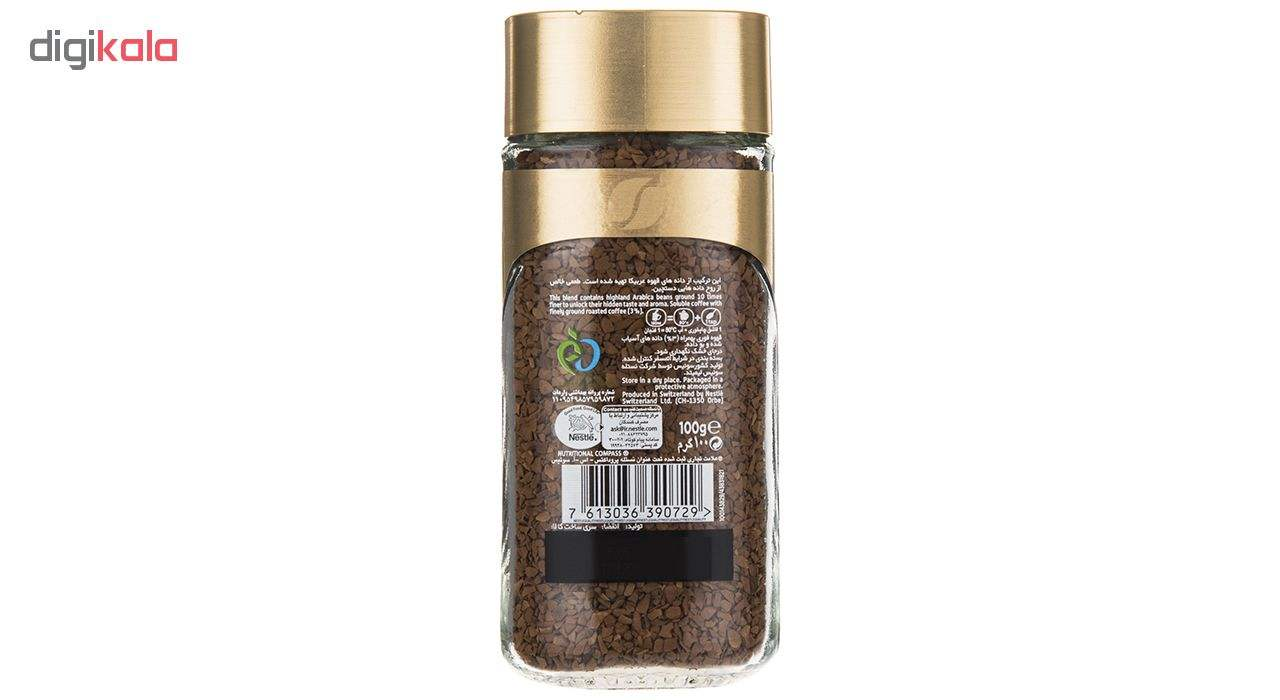 قهوه فوری نسکافه گلد مقدار 100 گرم main 1 4