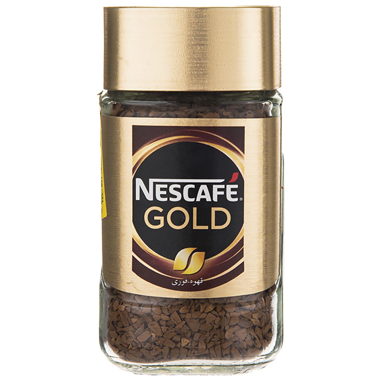 قهوه فوری نسکافه گلد مقدار 50 گرم