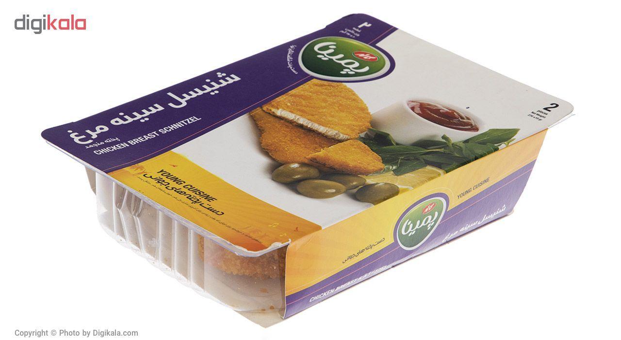 شنیسل سینه مرغ منجمد پمینا کاله مقدار 270 گرم main 1 3