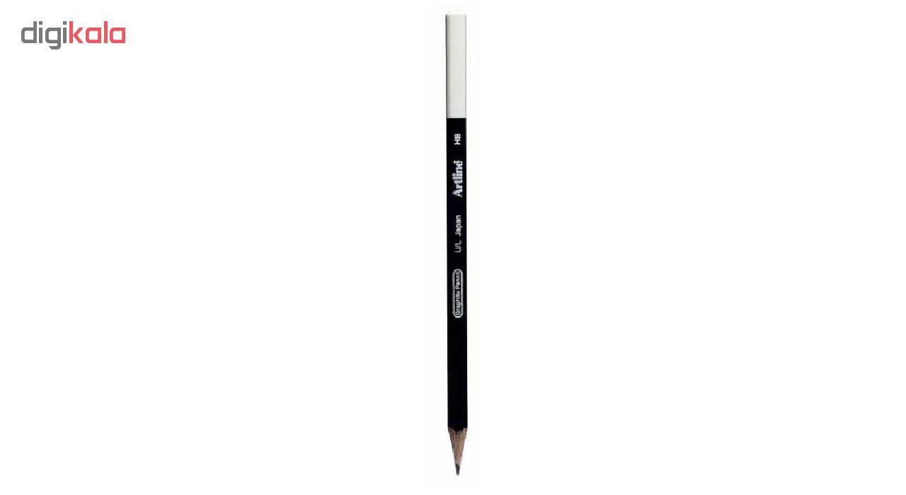 مداد مشکی آرت لاین مدل HB بسته 12 عددی main 1 2