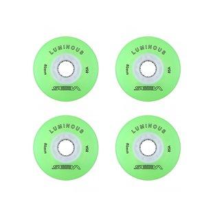چرخ اسکیت سبا مدل Luminous 80MM بسته 4 عددی
