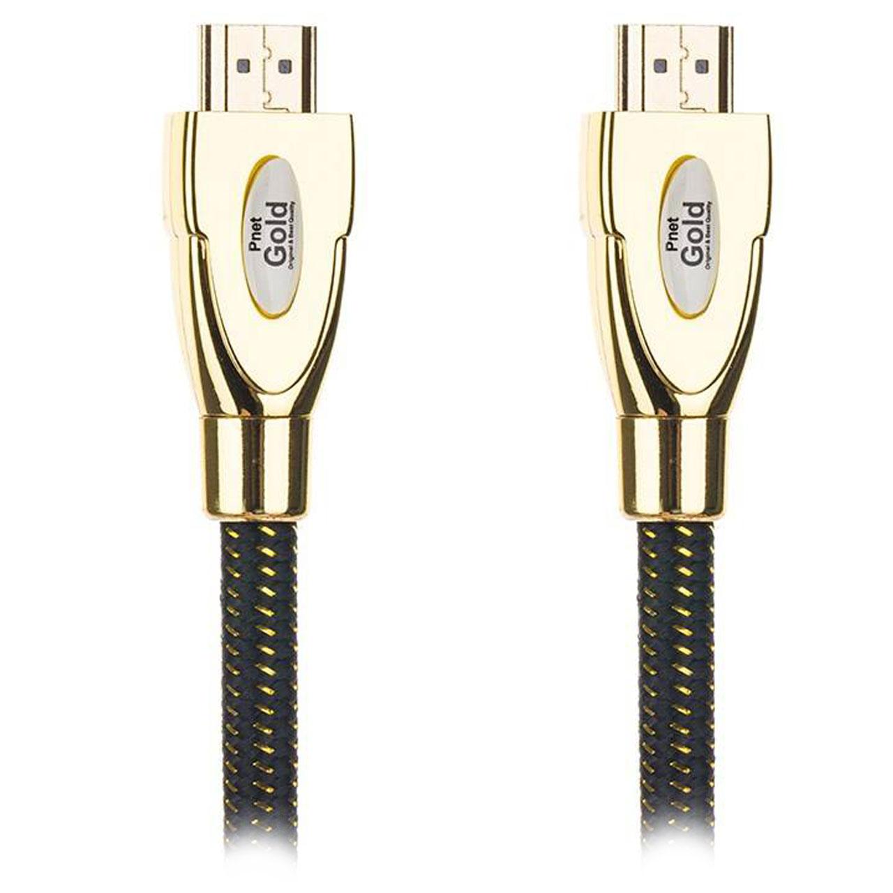کابل HDMI پی نت مدل Gold طول 10 متر