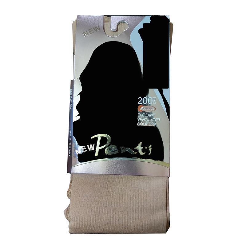 جوراب شلواری زنانه پِنتی مدل 200DEN رنگ کرم