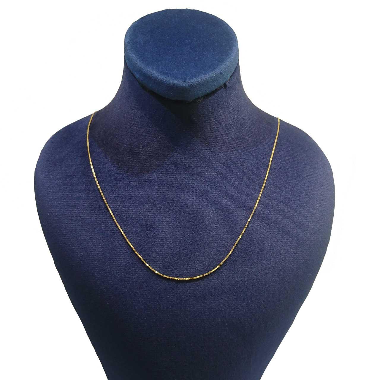 قیمت زنجیر طلا 18 عیار کانیار گالری مدل M999