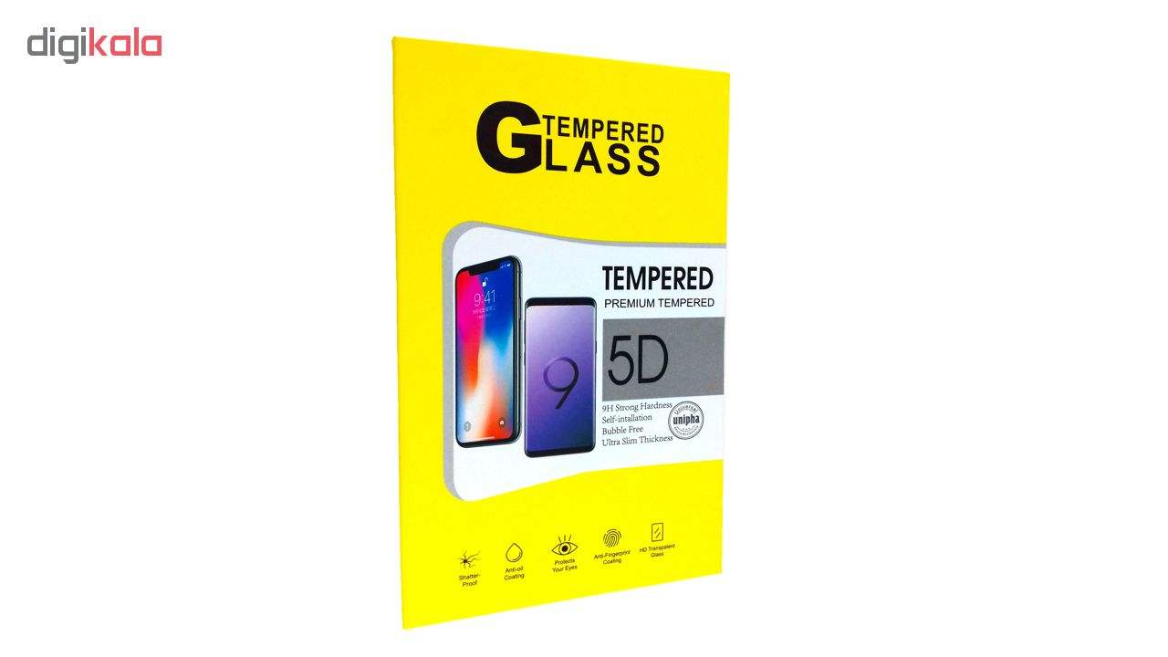محافظ شیشه ای پشت و روی صفحه نمایش یونیفا گلس مدل Premium Tempered مناسب برای گوشی اپل آیفون iPhone 5/5c/se/5s main 1 3