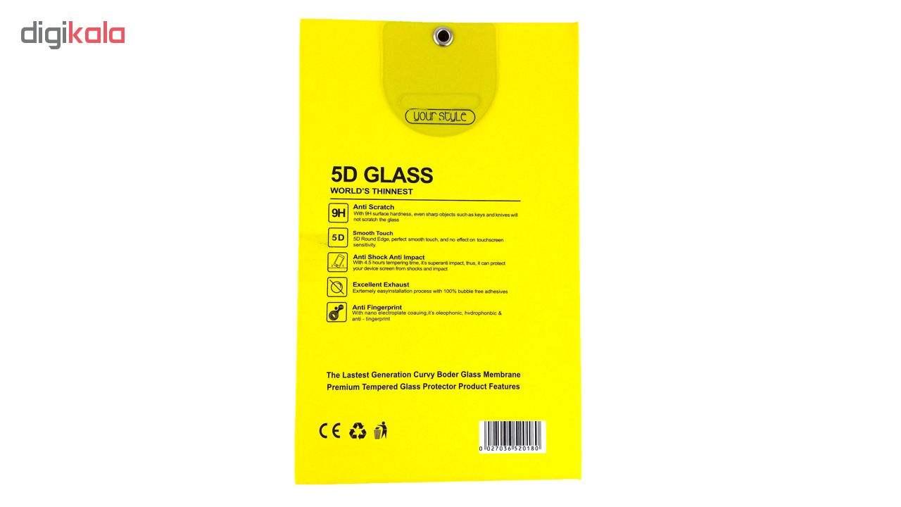 محافظ شیشه ای پشت و روی صفحه نمایش یونیفا گلس مدل Premium Tempered مناسب برای گوشی اپل آیفون iPhone 5/5c/se/5s main 1 4