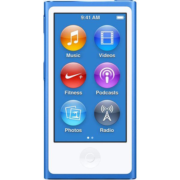 پخش کننده موسیقی قابل حمل اپل مدل iPod Nano نسل هفتم - ظرفیت 16 گیگابایت