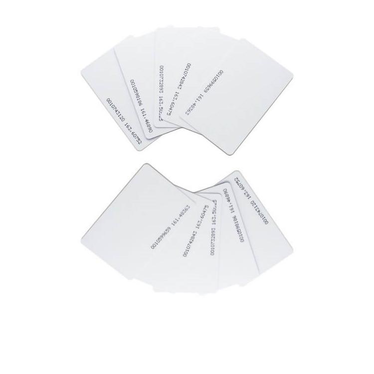 تگ کارتی RFID مدل 125Khz بسته ده عددی