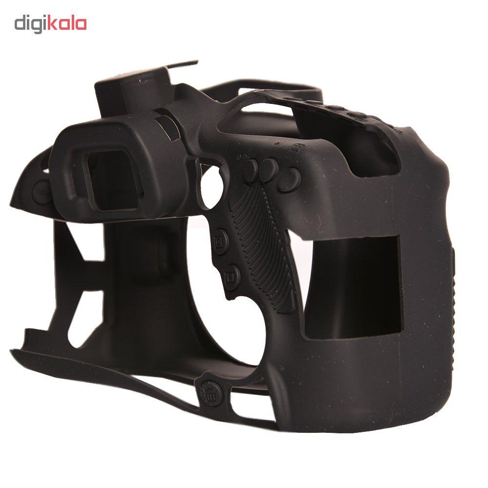 کاور سیلیکونی دوربین مدل 0032 مناسب برای دوربین 80D