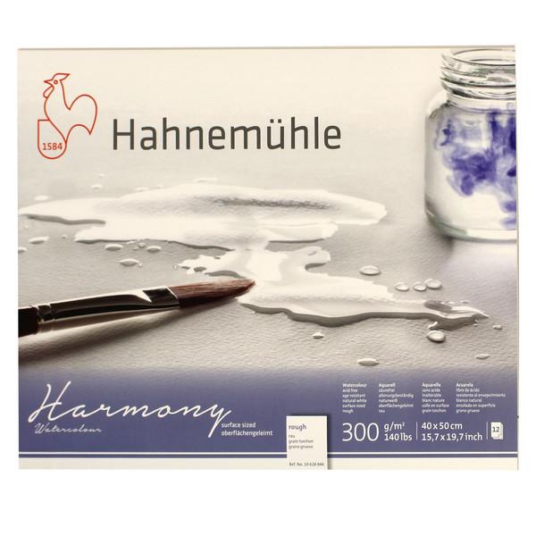 بلوک آبرنگ دفترچهای هانه موله مدل Harmony Roughسایز 40 × 50 سانتیمتر 12 برگ