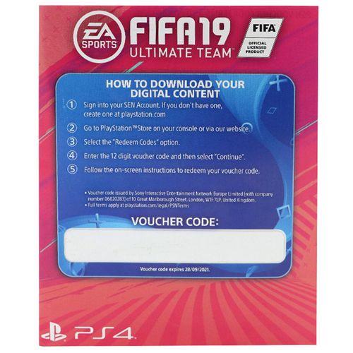 کد آلتیمیت ادیشن فیفا 19 PS4  مناسب برای اکانت امارت