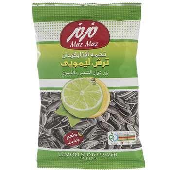 تخمه آفتابگردان ترش لیمویی مزمز مقدار 100 گرم