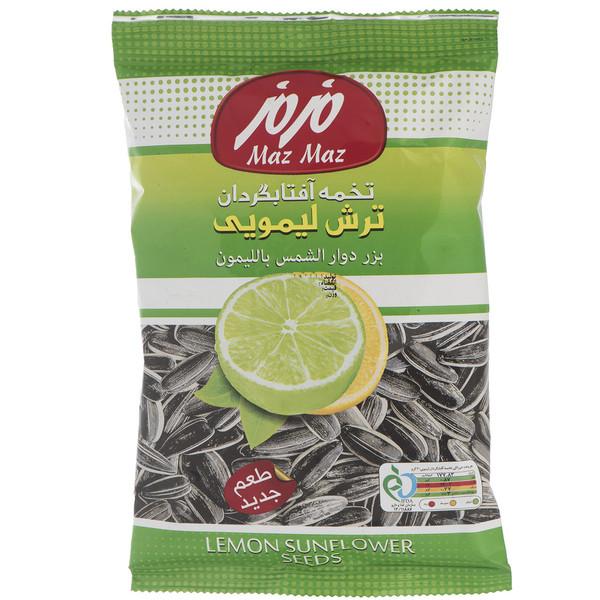 تخمه آفتابگردان ترش لیمویی مزمز مقدار 120 گرم