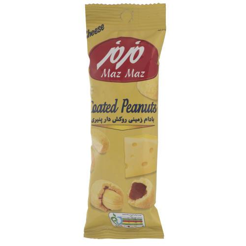 بادام زمینی روکش دار پنیری مزمز مقدار 30 گرم