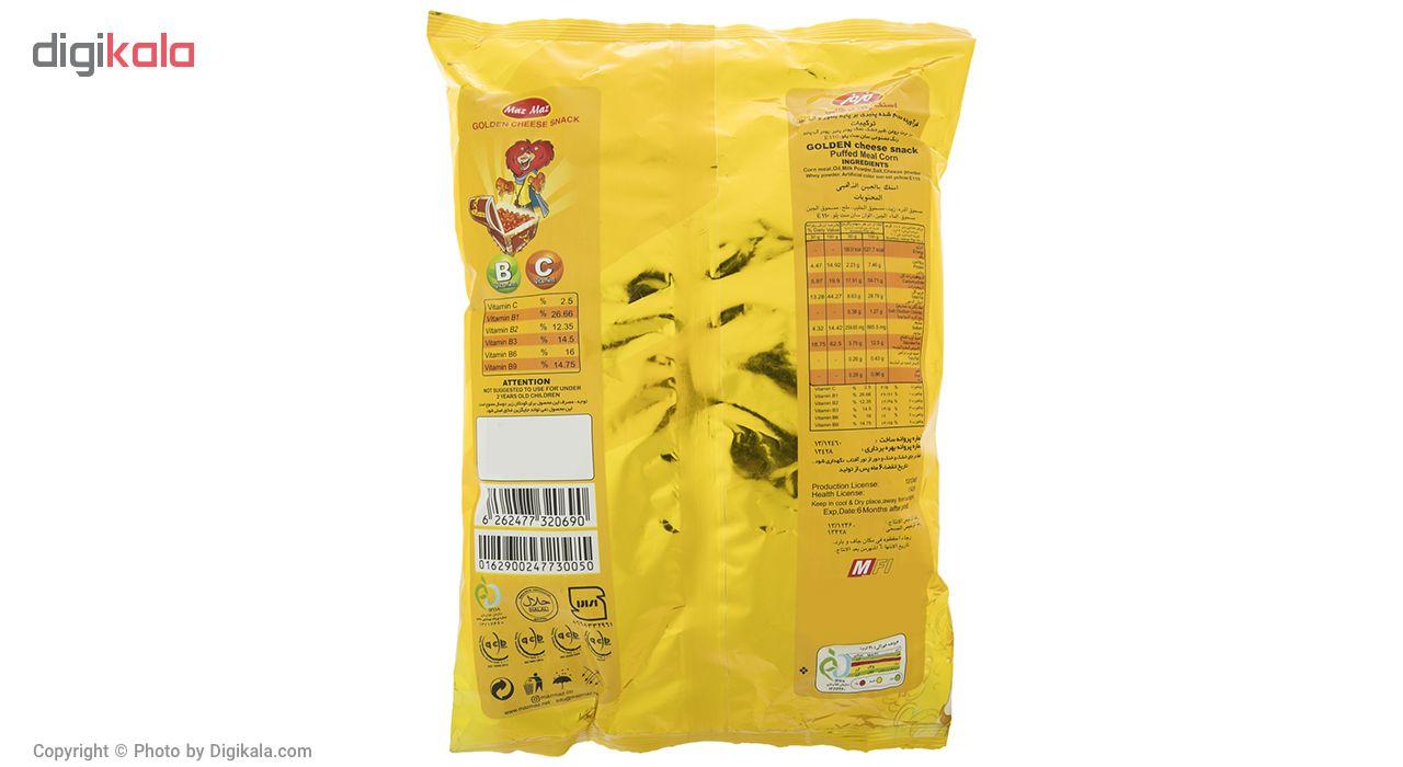 اسنک پنیری طلایی مزمز مقدار 110 گرم