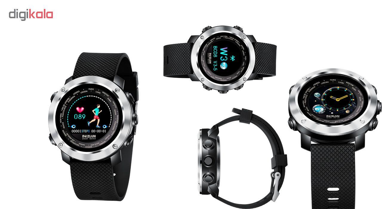 ساعت مچی هوشمند اسکمی بازلون مدل w30 کد 01