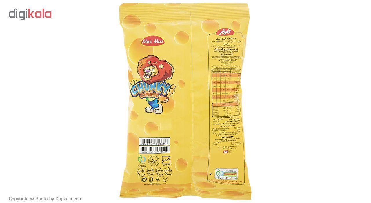 اسنک چانکی پنیری مزمز مقدار 100 گرم main 1 2
