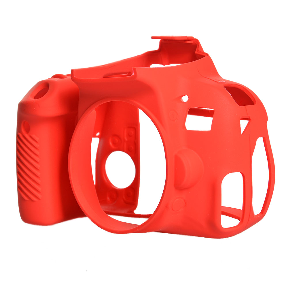 بررسی و {خرید با تخفیف}                                     کاور سیلیکونی دوربین مدل 0043 مناسب برای دوربین 800D                             اصل