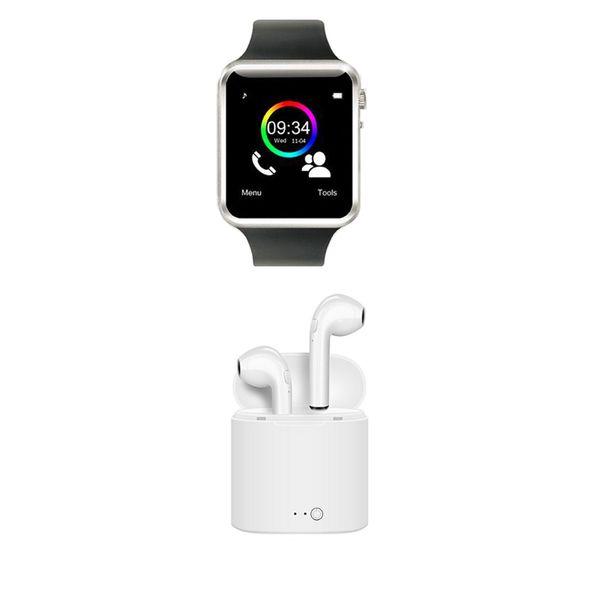 ساعت هوشمند مدل A1 به همراه هندزفری بی سیم I7S-TWS