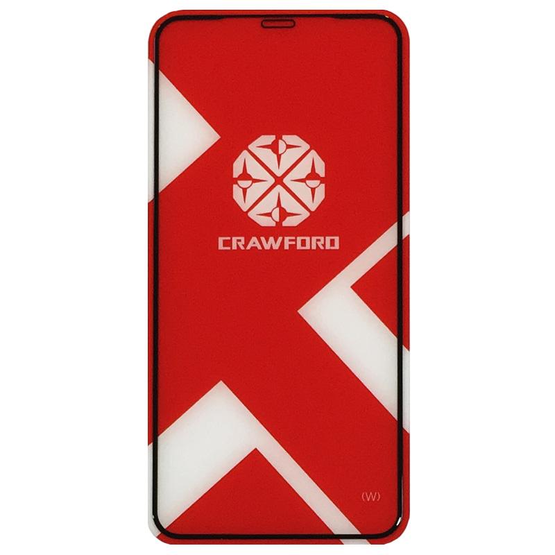 محافظ صفحه نمایش شیشه ای تمپرد ایکس او مدل Full Cover مناسب برای گوشی موبایل اپل آیفون XS Max
