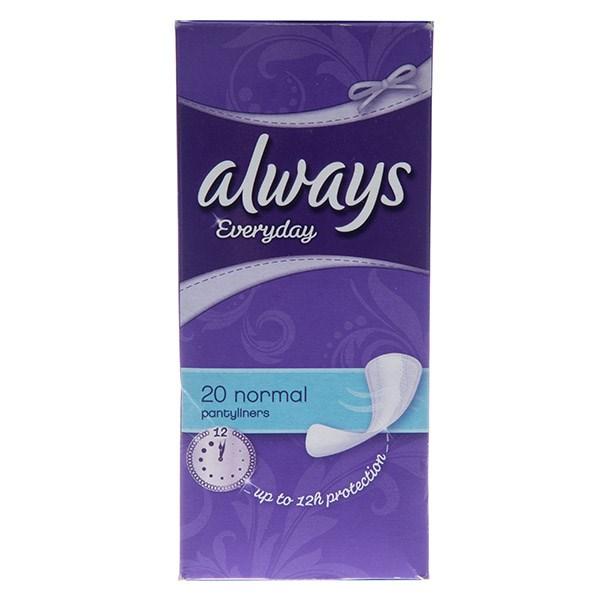 قیمت پد بهداشتی روزانه الویز مدل Normal Panty Liners بسته 20 عددی