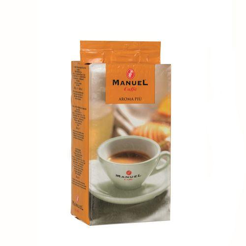 قهوه آسیاب مانوئل کافه مدل aroma piu بسته 250 گرمی