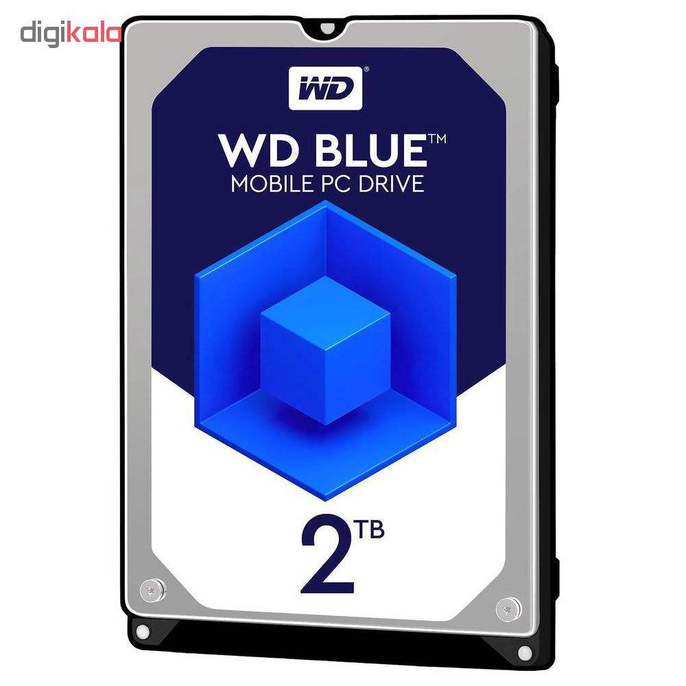 هارددیسک اینترنال وسترن دیجیتال مدل WD20SPZX ظرفیت 2 ترابایت main 1 1