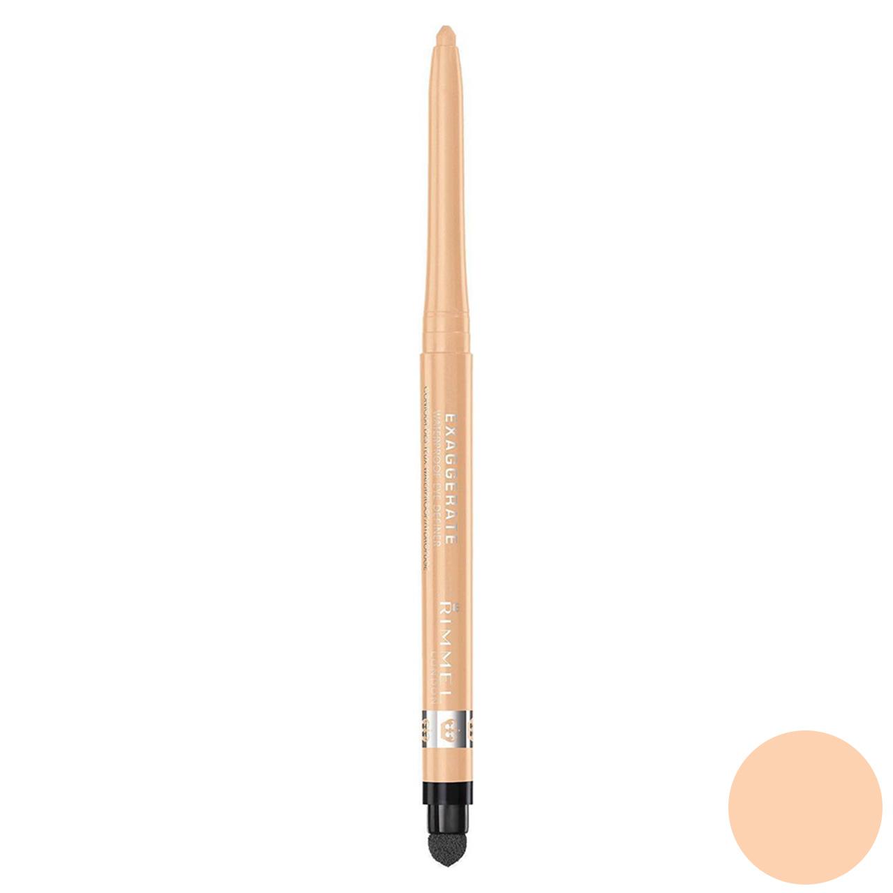 مداد چشم ضدآب ریمل لاندن مدل Exaggerate شماره 213