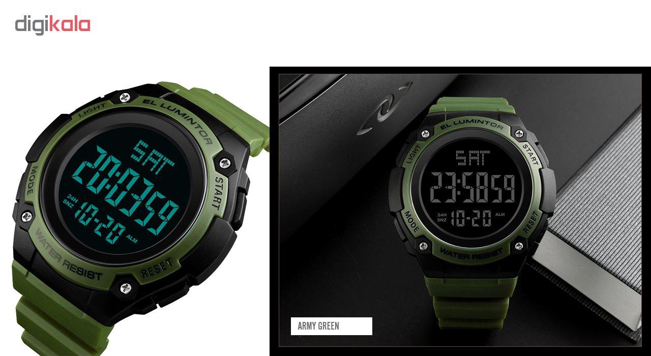 خرید ساعت مچی دیجیتالی مردانه اسکمی مدل 1346 کد 02