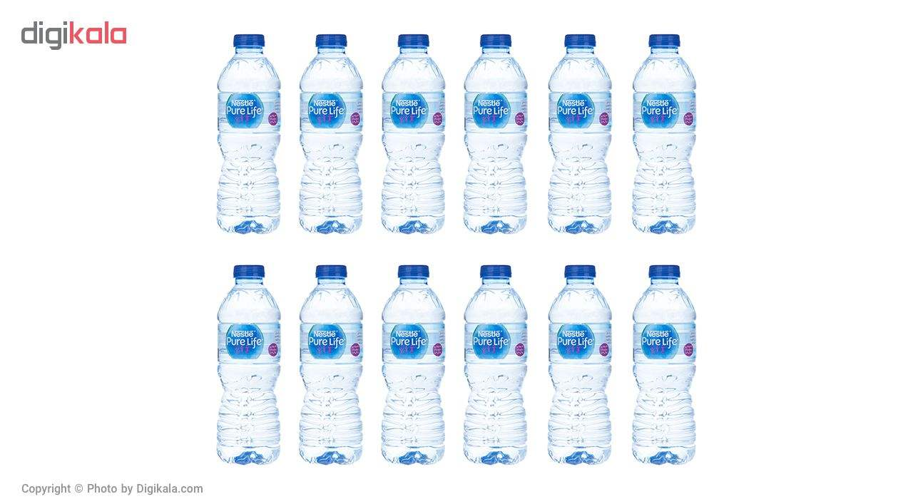 آب آشامیدنی نستله سری پیور لایف - 0.5 لیتر بسته 12 عددی main 1 2
