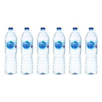 آب آشامیدنی نستله سری پیور لایف - 1.5 لیتر بسته 6 عددی