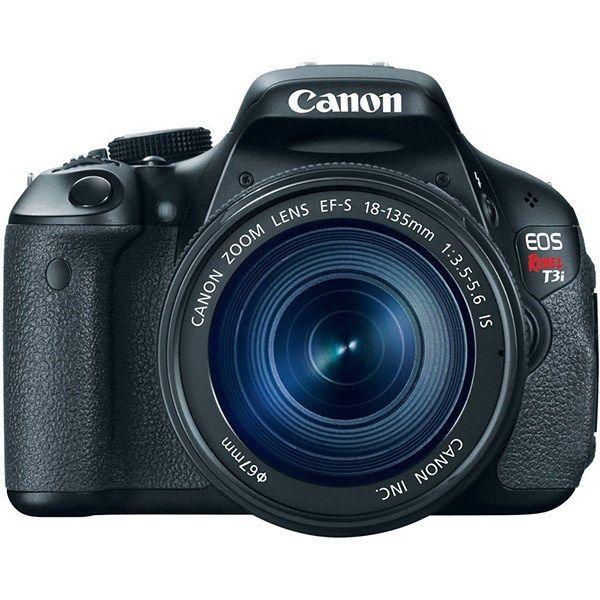 دوربین دیجیتال کانن ای او اس 600 دی (کیس ایکس 5 - ریبل تی 3 آی) با لنز کیت 135-18 آی اس
