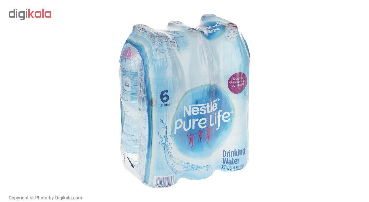آب آشامیدنی نستله سری پیور لایف - 1.5 لیتر بسته 6 عددی main 1 2